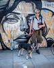 20170717-DSCF0156 Rupert & John with Tito Ferrara's mural (susi luard 2012) Tags: esslinger hanburystreet rupert e1 london uk john tito ferrara art