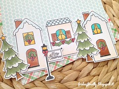 casette AE winter detail (fridayfinally) Tags: averyellestamps chalet copicmarkers copic cutebackground copics colorful coloring winter winterscene winterseason christmas christmastime christmastree wintervillage houses merrychristmas lawnfawnstamp plaidbackground snow christmasdecor