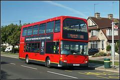 Go-Ahead London 935 (Jason 87030) Tags: scania omnidekka kent westwickham redarrows bus 800 bigginhillairshow red colour transport august weekend uk england show event 935 yn56fdk