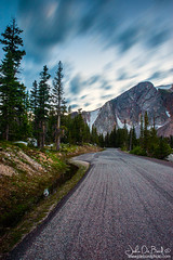 A Sense Of Time (rosacruzjl) Tags: medicinebow nationalforest routt snowyrange wyoming cloud country dawn dusk forest lake landscape longexposure nature outdoors peak pine road rural scenery scenic season sky state summer sunrise sunset travel tree view weather