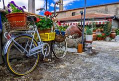 Recicling MiroBiKE (Walimai.photo) Tags: bike bicicleta bicycle recicling reciclaje ciudad rodrigo miróbrica gacela bh saelices el chico salamanca spain españa panasonic lx5 lumix color colour stone piedra