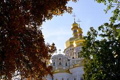 Upper Lavra (Francisco Anzola) Tags: ukraine kyiv kiev city pechersk lavra upper goldendomes orthodox