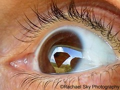 Look to the Sky (rachael242) Tags: eye eyeball pupil iris superman superhero hero super sky clouds eyelashes eyebrow face reflection relfect body abstract macro close up