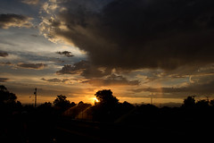 Sunset (slightheadache) Tags: nm newmexico santafe