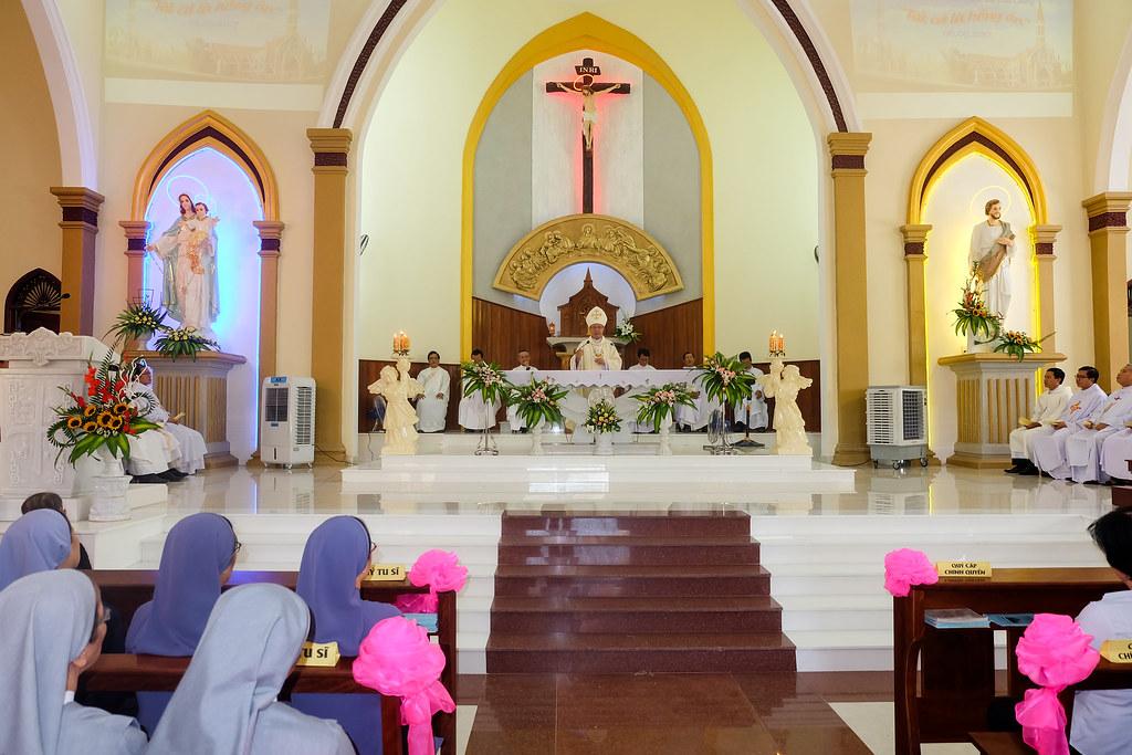 Thánh lễ tạ ơn khánh thành nhà thờ Hòa Cường – Giáo phận Đà Nẵng - Ảnh minh hoạ 63