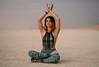 Kundalini (jackiedragon) Tags: women burningman sunset beautiful fujifilm 56mm color 2017 meditation kundalini