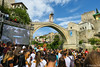 Red Bull Cliff Diving / Mostar / Bosnia and Herzegovina (HimzoIsić) Tags: jumping extreme sport action adrenalin landscape outdoor poeple building