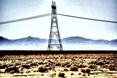 The Line !!!!!!!!!!!!!! (imagejoe) Tags: desert sand wind hot photogaphs photos color sun fog nikon