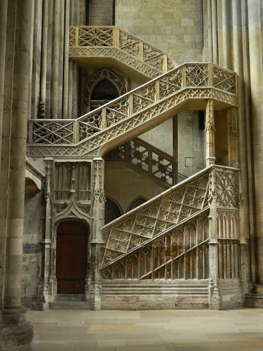 RouenCathedralStaircase