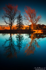 Towers (rosacruzjl) Tags: belmarrpark colorado denver lakewood blue calm calming city conceptual cove dawn destination foothill goldenhour lake landscape light morning mountain place pond reflection relax relaxation relaxing resource sky sunlight sunrise tranquil travel tree water waterscape usa