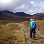 Approaching the Fannichs from the east thumbnail