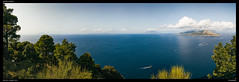 Gulf of Naples (Falcdragon) Tags: capri campania italy it naples gulf sea water panorama vesuvius shotononeplus oneplus5