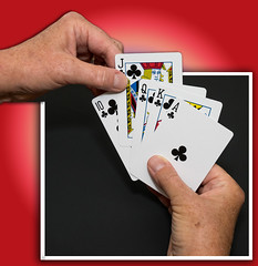 Clubs (Explored) (lclower19) Tags: 3652 522017 cards clubs outofbounds hands week36 52in2017 games explored odt