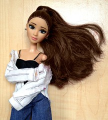 Grinding On This Grande (honeysuckle jasmine) Tags: ariana grande mattel barbie doll made to move dangerouswomantour