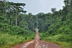Through rural Liberia