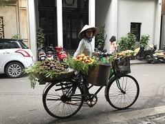The searching glance_Hanoi_IMG_1737 (AchillWandering) Tags: vietnam hanoi people street portrait local rush