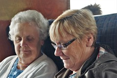 Sharing (dlanor smada) Tags: ladies twos pairs kenteastsussexrailway tenterden