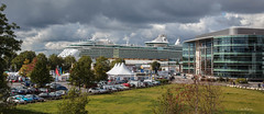 Southampton (clive_metcalfe) Tags: southampton independenceoftheseas hampshire boat cruise liner ship dock port clouds carnival uk vacation royalcaribbean