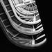going up (saraconve) Tags: noise stairs spiral spiralstairs bnw bw blackandwhite black white biancoenero bianco nero lingotto torino italia italy architecture architettura geometric geometrical geometry geometrie