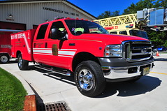 Lawrenceville Fire Company Utility 23 (Triborough) Tags: nj newjersey mercercounty lawrencetownship lawrenceville lfc lawrencevillefirecompany firetruck fireengine utility utility23 ford fseries f350