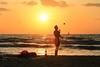 The Juggler (Lior. L) Tags: thejuggler juggler juggling sea beach telavivbeach silhouette sunset israel