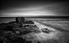 Sirens Rock (-- Q --) Tags: northernireland causewaycoast garronpoint dunmaulfort atmosphere atlanticocean sea longexposure lee09softgrad leelittlestopper marumidhgcpl paddysbarn monochrome blackwhitephotos