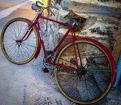 Orbea ZamoBiKE (Walimai.photo) Tags: bike bici bicicleta bicycle montamarta zamora spain españa castilla y león lx5 panasonic lumix camino de santiago vía la plata color colour detalle detail metal piedra stone