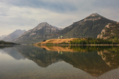 The Prince of Wales Hotel (Andrew G Robertson) Tags: waterton lake lakes national park alberta canada prince wales hotel reflection