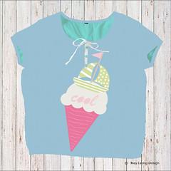 cool summer_summer festival trend (May Leong Design) Tags: summer kidstrend icecream surfacepatterndesign kidsfashion