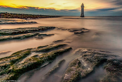 Perch Rock Lighhouse (andyyoung37) Tags: merseyside newbrighton perchrocklighthouse seascape uk beach sunset thewirral wallasey england unitedkingdom gb