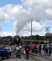 611InPetersburg5-7-17 (T's PL) Tags: 611locomotive nikond7200 nikon d7200 nikondslr petersburgva tamron nikontamron virginia va tamron18270 tamron18270mmf3563diiivcpzd tamron18270f3563diiivcpzd norfolkwesternlocomotive steamlocomotive 611 locomotive train nw611 nw611steamlocomotive