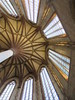 Apse ceiling and windows, Les Jacobins, church in Toulouse, France