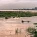 Fishermen on the Mekong, Vientiane, Laos