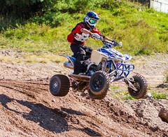 Quad Catching Some Air (John Kocijanski) Tags: quad atv fourwheeler race motocross sport jump rider people canon70300mmllens canon7d