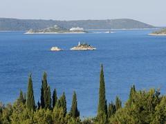 The Adriatic sea outside of Split!