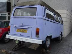 1973 Volkswagen Camper Van (Neil's classics) Tags: vehicle van camper abandoned 1973 volkswagen vw camping motorhome autosleeper motorcaravan rv caravanette kombi mobilehome dormobile