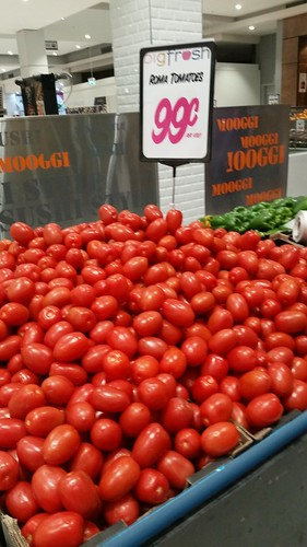 Great Roma tomatoes at Punchbowl