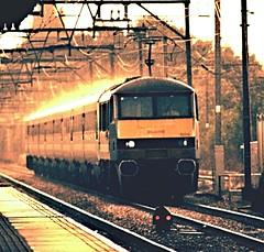 Weather Related Incident (darkprince66 (Tug Chasing Super Hero :D)) Tags: locomotive railway 90014 class90 nationalexpresseastanglia romford