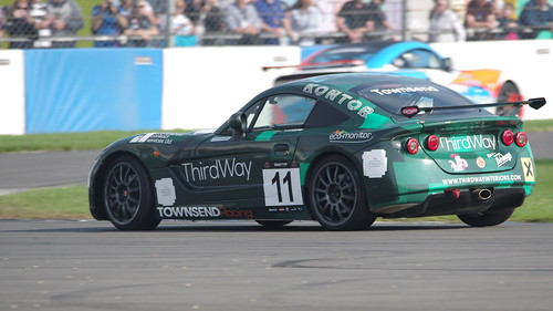 Ginetta GRDC+ at British GT Championship 2017 Donington Park - James Townsend