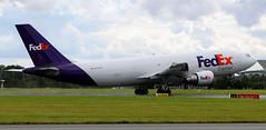 N744FD (Ken Meegan) Tags: n744fd airbusa300b4622rf 664 fedexexpress dublin 582017 fedex cargo airbusa300 airbus a300b4622rf a300