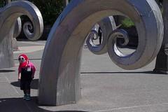 Art is puzzling (Maureen Pierre) Tags: puzzle art child puzzling ballardlocks sculptureseattle washington state