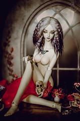 Vanitas_1 (Mara Fox) Tags: soom breccia soombreccia vanitas bjd nude scull