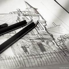 224/365 - le crobard du matin (Patrice Dx) Tags: nikonpassion365 projet365 dessin crayon croquis grosplan art
