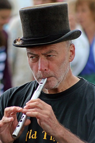 The Penny Whistle Player - Sidmouth Folk Festival, Sidmouth, Devon - Aug 2017 - 097