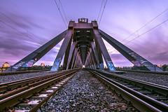 Bridge Stories (Moritz Padberg) Tags: düsseldorf duesseldorf bridge symmetrie
