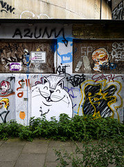 HH-Wheatpaste 3366 (cmdpirx) Tags: hamburg germany reclaim your city urban street art streetart artist kuenstler graffiti aerosol spray can paint piece painting drawing colour color farbe spraydose dose marker stift kreide chalk stencil schablone wall wand nikon d7100 paper pappe paste up pastup pastie wheatepaste wheatpaste pasted glue kleister kleber cement cutout