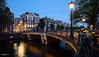 Amsterdam. (alamsterdam) Tags: amsterdam canal bridge selfie longexposure reflection architecture keizersgracht people evening bluehour