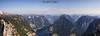 Pano Alps (Clear Of Conflict) Tags: alps pano panorama panoramica mountains nature landscape naturaleza paisaje lake lago montañas tyrol tirol hallstatt obersee obertrain 5 fingers five summer verano blue sky alpes specland