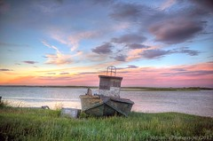 After Midnight (savillent) Tags: sunset night midnight skies clouds landscape boat seashore beach arctic north climate summer photography nikon saville water tuktoyaktuk nt northwest territories canada national geographic magazine surreal july 2017