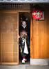 Kyoto (byzanceblue) Tags: gion daitsune ochaya ichiharu kyoto maiko japan traditonal japanese geisha kimono hassaku nikkor woman girl lady female beauty cute lovely black color colour professional summer